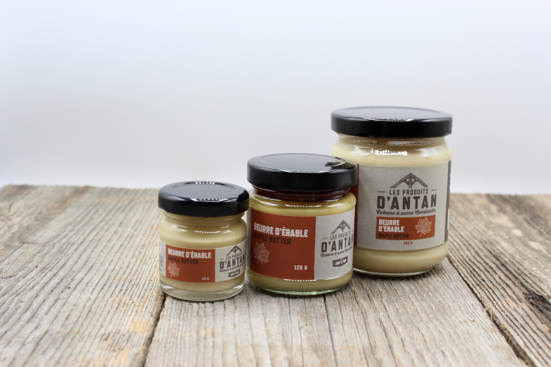 Beurre d'érable produit d'antan