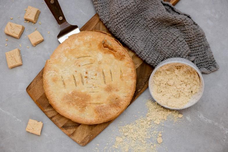 Tarte au sucre produits cuisinés Antan