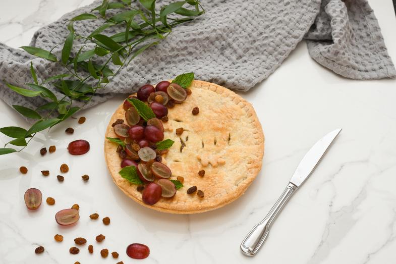 Tarte aux raisins Antan Constantin