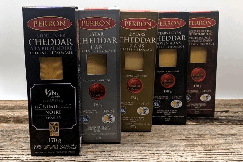 Cheddars Perron Produits d'antan