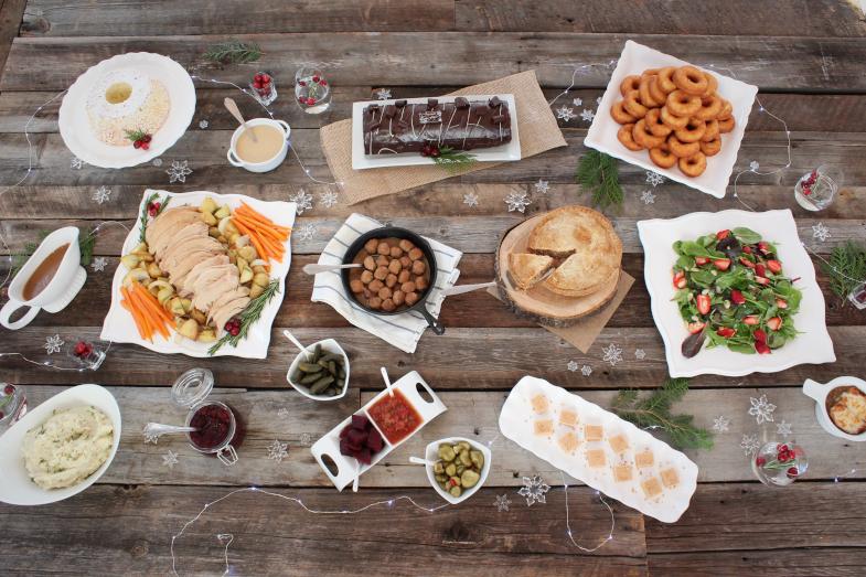 repas des fêtes Constantin