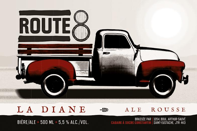 Diane Produits d'antan Route 8