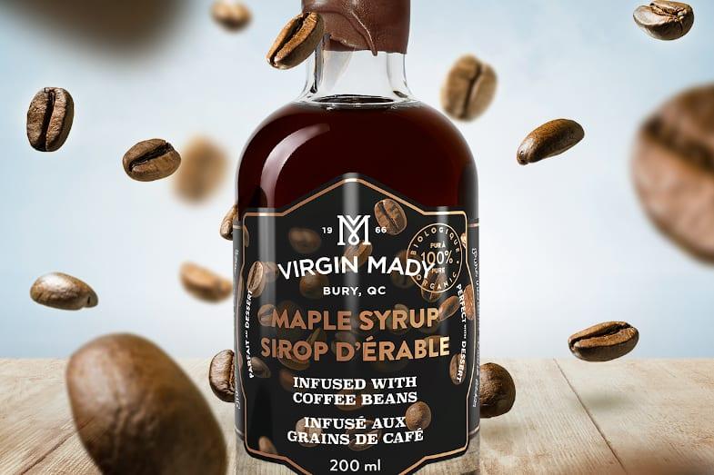 Virgin Mady Sirop infusé café Produits d'Antan