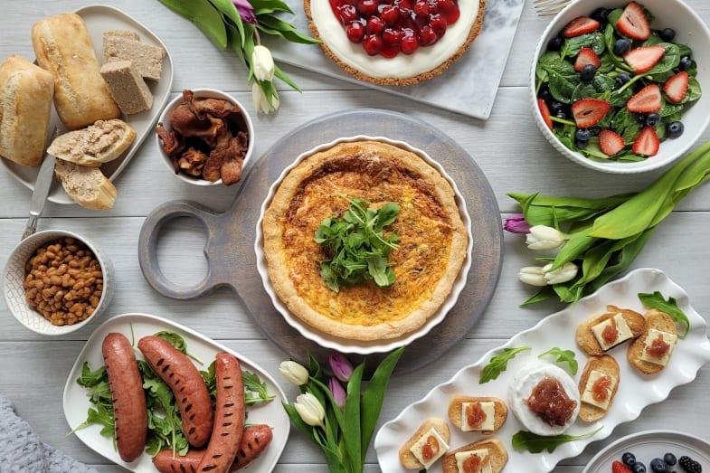 Boite-repas fête des mères 4 personnes Antan