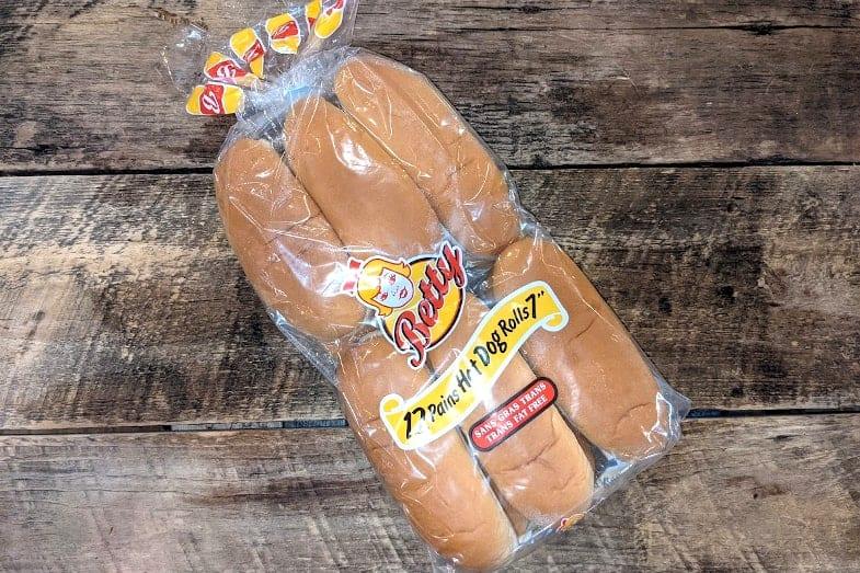 Betty - Pain Hot-dogs Produis d'antan