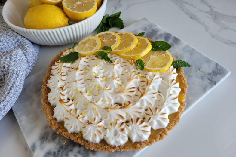 Tarte au citron Produits d'Antan
