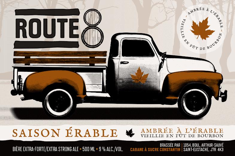 Érable Bourbon Route8